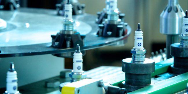 Brisk увеличивает объем экспорта свечей зажигания в Россию